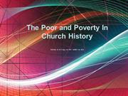 Poor and Poverty in Church History