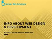 Info About Web Design and Development