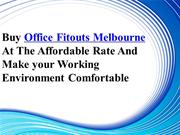 Buy Office Fitouts Melbourne