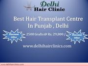 Cheap Hair transplant and Hair loss  treatment Clinic in Punjab
