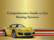 Comprehensive Guide to Car Sharing Services