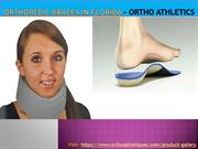Orthopedic braces In Florida - Ortho Athletics