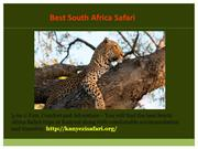 South Africa Luxury Safari