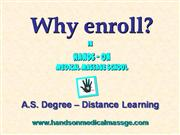Medical Massage school-Distance Learning
