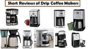 Are these really Drip Coffee Makers?? Give your opinion