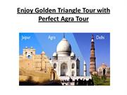 Enjoy Golden Triangle Tour with Perfect Agra Tour
