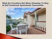 Self Contained Apartments Toowoomba