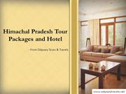 Tour Packages For Himachal Pradesh