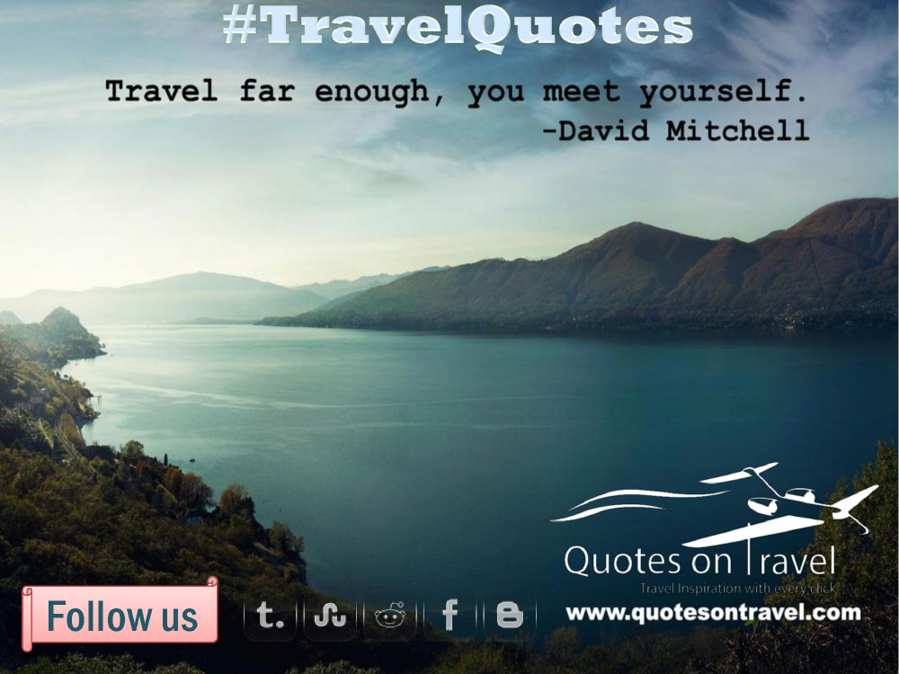 Funny Quotes On Travel By David Mitchell Authorstream