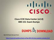 New Cisco 400-151 Exam Dumps Questions - Dumps4Download.us