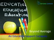 Beyond Average - Best online assignment and tutoring help