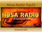 Hosa Radio Top25  23-01-2017