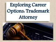 Exploring Career Options Trademark Attorney