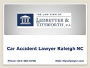 Car Accident Lawyer Raleigh NC