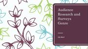 Audience Research and Surveys Pie Charts