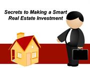 Secrets to Making a Smart Real Estate Investment