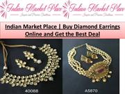 Buy Diamond Earrings Online and Get the Best