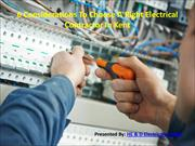 6 Considerations To Choose A Right Electrical Contractor In Kent
