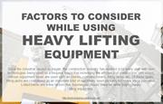 The Importance Of Good Quality Heavy Lifting Equipment In Construction