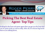 Picking the Best Real Estate Agent- Top Tips