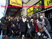 Lion King at Lyceum Theatre London