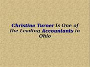 Christina Turner Is One of the Leading Accountants in Ohio