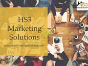 End to End Design and Consulting Services in Texas - HS3 Marketing Sol