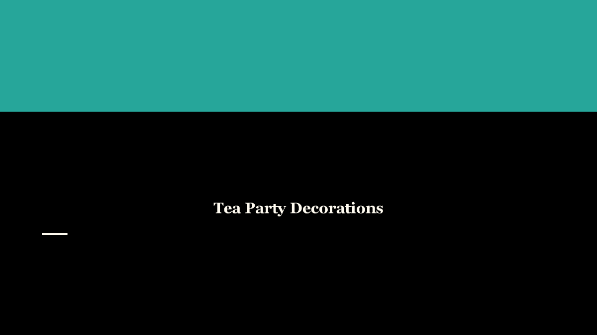 key club powerpoint template - tea party decorations authorstream