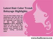 Best Balayage Highlights in NYC