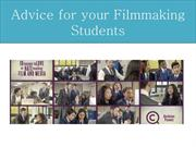 Advice for your Filmmaking Students