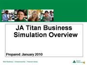 JA Titan Simulation Overview