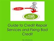 Guide to Credit Repair Services and Fixing Bad Credit | RL Kramer LLC