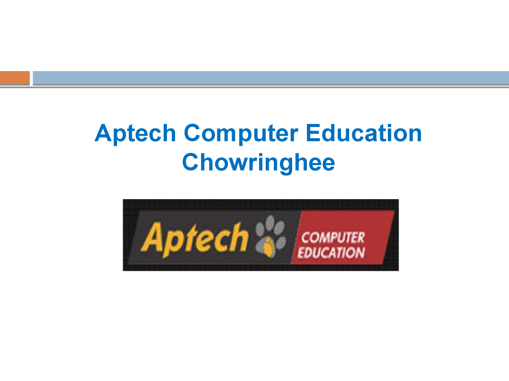 Aptech Chowringhee Top Institute For Cisco Certification Trainin