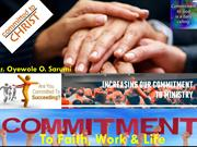 Commitment - To Faith, Work and Life Presentation