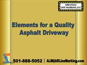 Elements for a Quality Asphalt Driveway