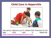 Infant Care in Naperville IL