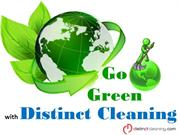 Go Green with Distinct Cleaning