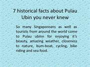 7 historical facts about Pulau Ubin you never knew