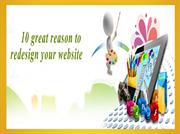 10 great reason to redesign your website