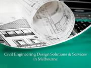 Civil design services and solutions at affordable cost
