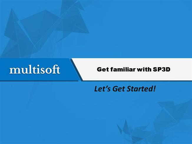 Introduction to SP3D Training Video by Multisoftsystems  authorSTREAM