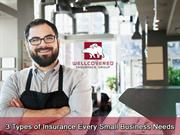 3  Types of Insurance Every Small Business Needs