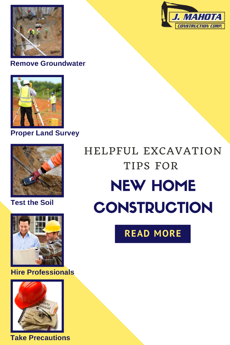 Excavation tips for new home construction authorstream for Modern home construction techniques