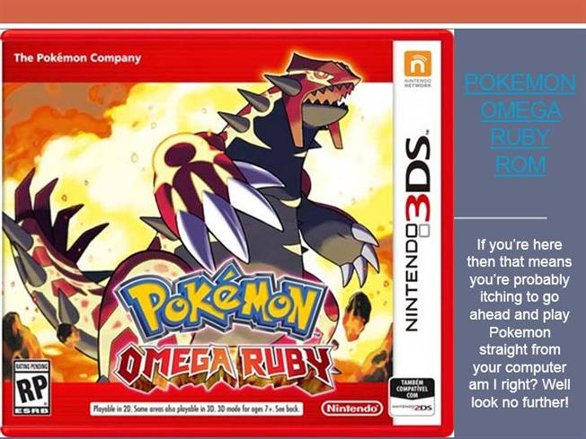 pokemon omega ruby gba version download