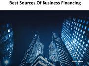 Grant Barra Illinois - Sources of Business Financing for Entrepreneurs