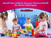 Enroll Your Child at Daycare Wentworthville for Better Upbringing