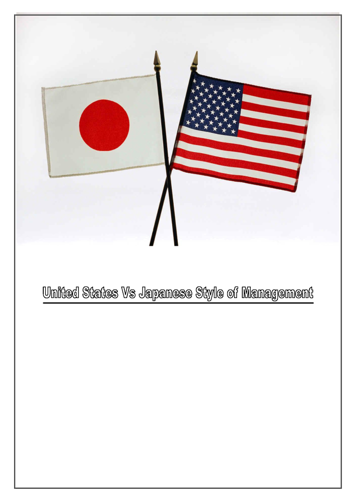 United states presidential management styles