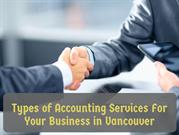 Types of Accounting Services For Your Business