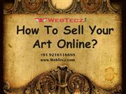 How To Sell Your Art Online?