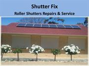 Roller Shutters Repair and Service in Adelaide - Shutter Fix